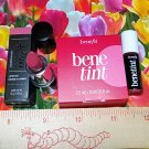 BareMinerals Marvelous Moxie Lipstick  ~ GET READY ~ + Benefit BeneTint Travel Size