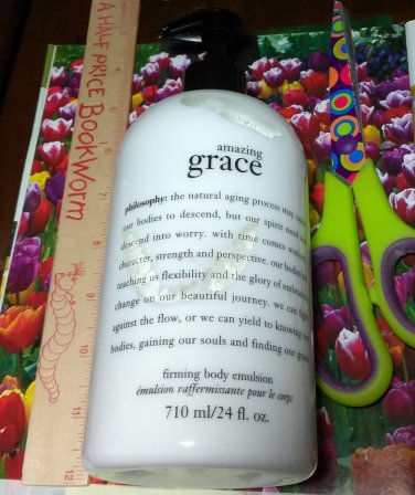 Philosophy ~ AMAZING GRACE ~ Firming Body Emulsion Lotion 24 oz / 710 ml Full Size