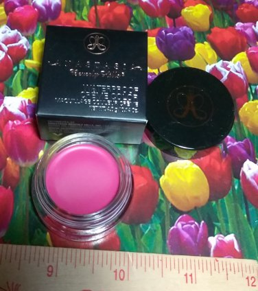Anastasia Beverly Hills Waterproof Creme Color ~ BARBIE PINK ~ .14oz / 4g Full Size Boxed