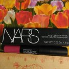 NARS Velvet Matte Lip Pencil Lipstick ~ Let's Go Crazy (vivid pink) ~  .06 oz / 1.8 g Travel Size