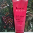 Breathe ROMANCE Sensuous Amber Myrrh High Lather Moisture Wash 6.7 oz  Full Size Bath & Body Works
