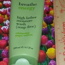 Breathe ENERGY Exhilarating Ginger Verbena High Lather Moisture Wash Full Size Bath & Body Works