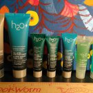 (8) H2O Travel Size ~ Marine Calm + Face Oasis + Exfoliating Cleanser + Hand and Nail Cream
