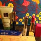 Lot 4 Estee Lauder Travel Size + Full Size ~ Lipstick + Lipgloss + Mascara + Splash Away Cleanser