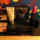 Lot 6 Lancome Travel Size + Full Size ~ Lipstick + Eyeshadow + Blush + Mascara + Illuminator