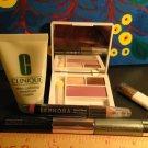 Lot 5 Clinique + Sephora Travel Size ~ Lip Pencil + Eyeshadow + Blush + Mascara + Mask