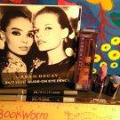 Lot 5 Urban Decay Travel Size ~ Lipstick RAPTURE + (3) Eyeliner + Lipgloss WALLFLOWER
