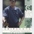 TIGER WOODS 2002 Upper Deck Chip Shots #81 PGA Golf