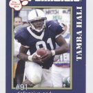 TAMBA HALI 2005 Penn State Second Mile college card PRE-ROOKIE Kansas City KC Chiefs