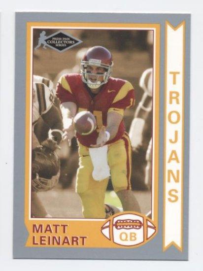 MATT LEINART 2006 Press Pass Silver Collectors Series #OS21 ROOKIE USC Trojans CARDINALS