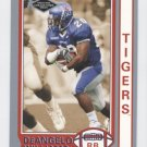 DeANGELO WILLIAMS 2006 Press Pass Collectors Series