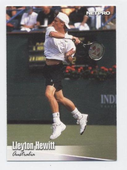 LLEYTON HEWITT 2003 Netpro ROOKIE #3 Australia