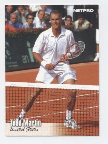 TODD MARTIN 2003 Netpro ROOKIE #29 USA