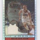 KEITH VAN HORN 2002 Topps JE Game-Worn JERSEY 76ers