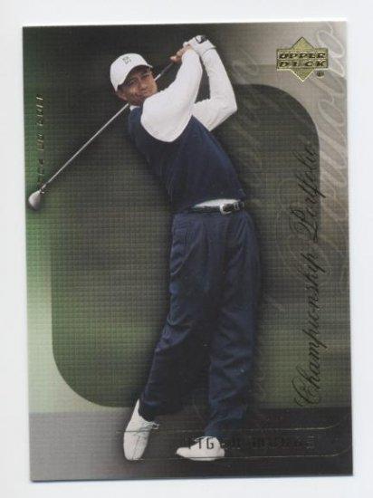 TIGER WOODS 2004 Upper Deck Championship Portfolio #5