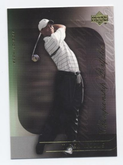 TIGER WOODS 2004 Upper Deck Championship Portfolio #15
