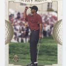 TIGER WOODS 2001 Upper Deck Victory March #151 ROOKIE PGA