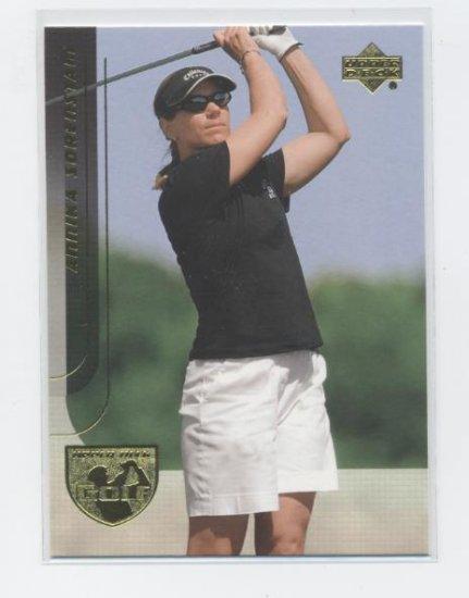 ANNIKA SORENSTAM 2004 Upper Deck UD #17 LPGA Golf
