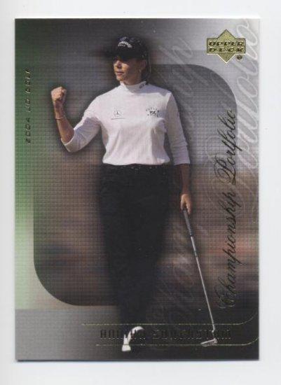 ANNIKA SORENSTAM 2004 Upper Deck Championship Portfolio #25 LPGA