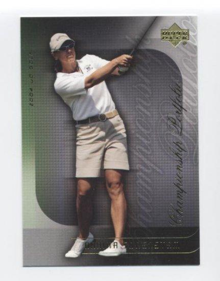 ANNIKA SORENSTAM 2004 Upper Deck Championship Portfolio #27 LPGA