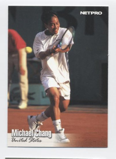 MICHAEL CHANG 2003 NetPro #64 USA