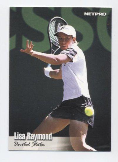 LISA RAYMOND 2003 Netpro ROOKIE #48 USA