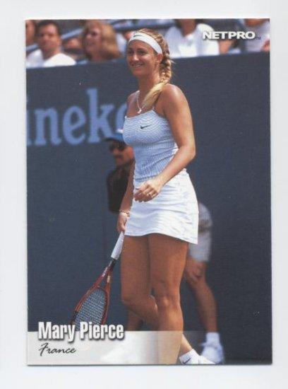 MARY PIERCE 2003 NetPro #42 ROOKIE France