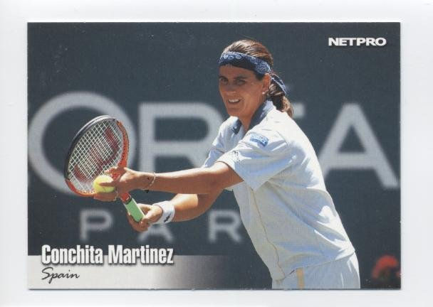 CONCHITA MARTINEZ 2003 NetPro #40 ROOKIE Spain