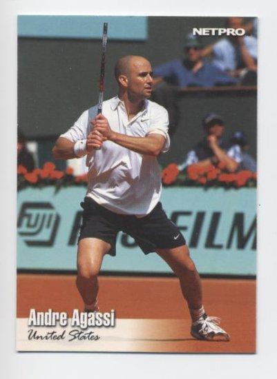 ANDRE AGASSI 2003 NetPro #15 USA