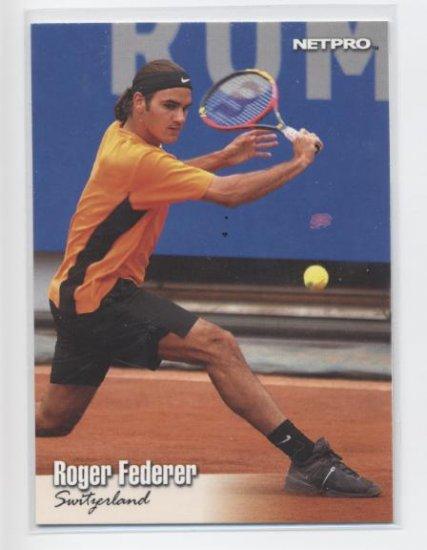 ROGER FEDERER 2003 NetPro #90 SP ROOKIE Sweden