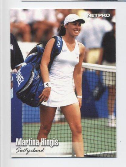 MARTINA HINGIS 2003 NetPro #33 ROOKIE Switzerland