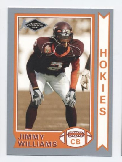 JIMMY WILLIAMS 2006 Press Pass Silver Collectors Series