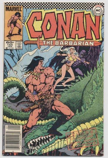 Marvel Comics: Conan The Barbarian #154 January 1984