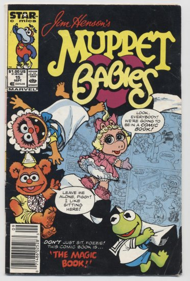 Marvel Comics: Jim Henson's Muppet Babies #15 Sept 1987