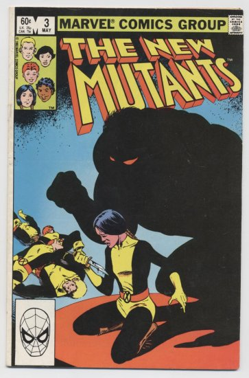 Marvel Comics: The New Mutants #3 May 1983
