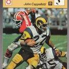 JOHN CAPPELLETTI 1979 Sportcaster Italy card PENN STATE Nittany Lions RAMS