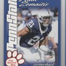 ALAN ZEMAITIS 2004 Penn State Second Mile college card TAMPA BAY Buccaneers TB BUCS