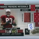 BRYANT JOHNSON 2003 Playoff Absolute RPM Jersey Football #d/750 ROOKIE Penn State LIONS