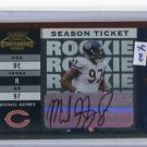 MICHAEL HAYNES 2003 Playoff contenders #187 AUTO #d/999 ROOKIE Penn State BEARS