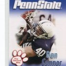 DAN CONNOR 2007 Penn State Second Mile College card PRE-ROOKIE Nittany Lions All-American