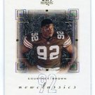COURTNEY BROWN 2000 SP Authentic #NC2 ROOKIE Penn State BROWNS