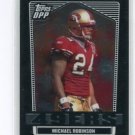 MICHAEL ROBINSON 2007 Topps DP&P Black Chrome #115 Penn State 49ers