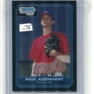 NICK ADENHART 2006 Bowman Chrome #BC18 ROOKIE Angels
