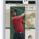 TIGER WOODS 2001 SP Authentic Preview Ambassadors of Golf ROOKIE
