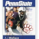 A.J. AJ WALLACE 2008 Penn State Second Mile CB Miami Dolphins