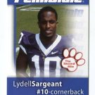 LYDELL SARGEANT 2008 Penn State Second Mile BILLS