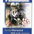 JORDAN NORWOOD 2008 Penn State Second Mile BROWNS Broncos