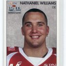 NATHAN NATE WILLIAMS 2008 Big 33 High School card OHIO STATE Buckeyes VIKINGS