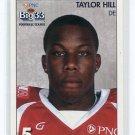 TAYLOR HILL 2008 Big 33 High School card MICHIGAN Wolverines RB