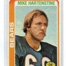 MIKE HARTENSTINE 1978 Topps #72 Bears PENN STATE